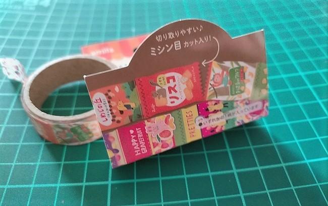 セリア お菓子のマスキングテープ
