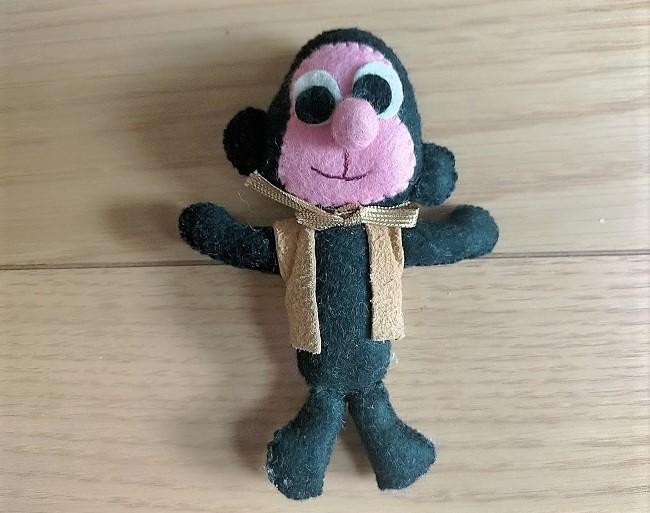 昭和のフェルトマスコット猿