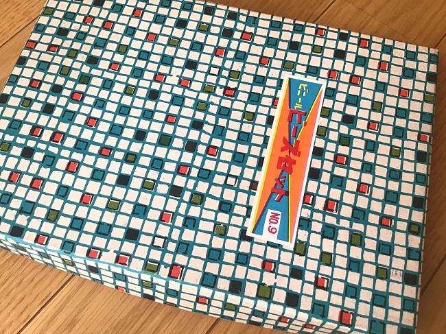 昭和の可愛いビーズの詰め合わせ 箱